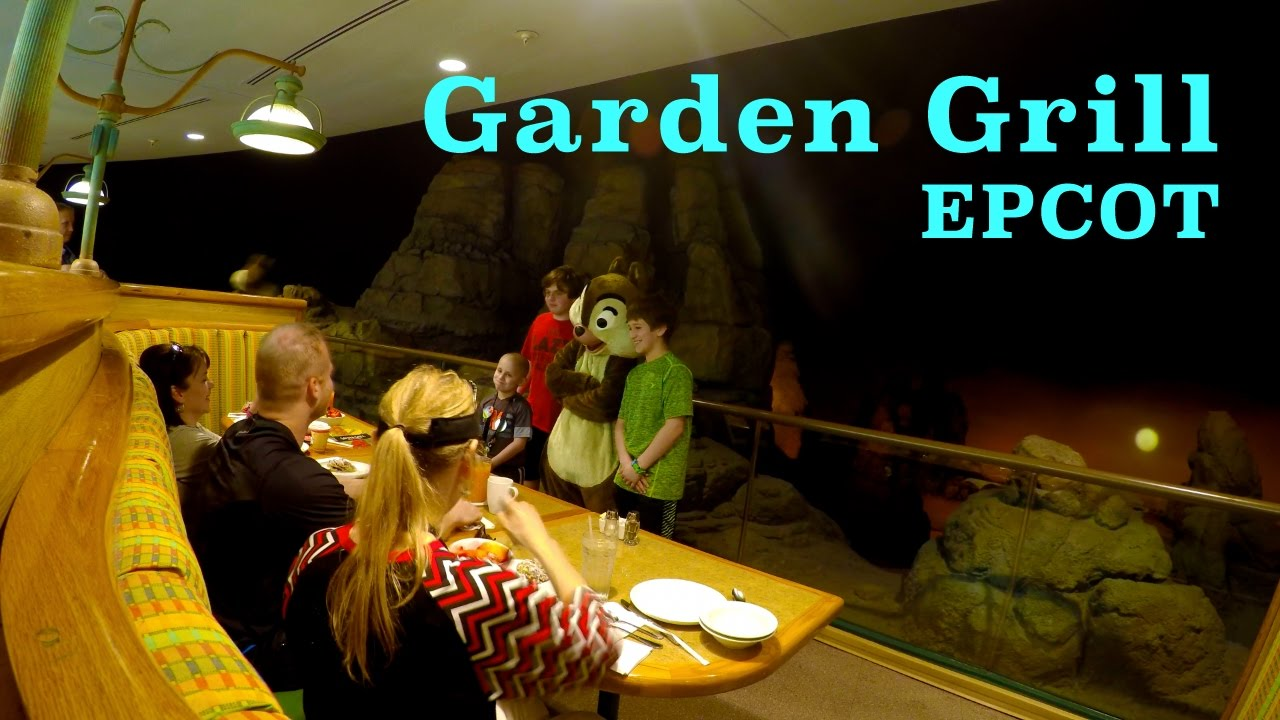 An Amazing Garden Grill Breakfast at EPCOT in 4k Time Lapse