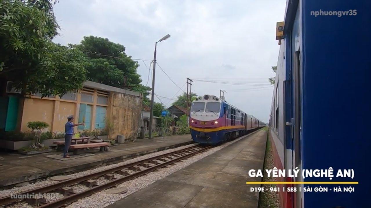 Vlog #01: Trải nghiệm du lịch bằng tàu hỏa   Tàu SE7: Hà Nội đi Đà Nẵng
