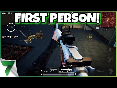 NEW UPDATE FIRST PERSON HYPE! LETS GOOOO!  PUBG Mobile