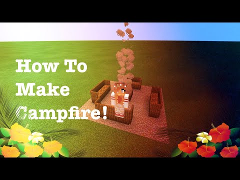 how-to-make-a-campfire-in-minecraft!!!-*-easy*-|-fun-time-with-hh