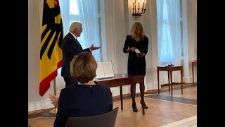 Bundesverdienstkreuz an Tübinger Notärztin Lisa Federle verliehen