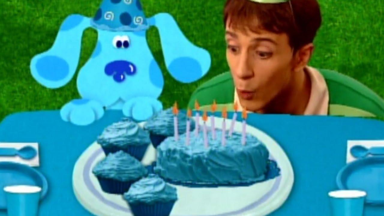 Blue S Clues Blue S Birthday Youtube