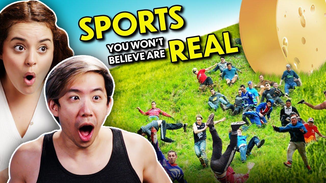 Download 7 Weirdest Sports You Won't Believe Exist | Adults React