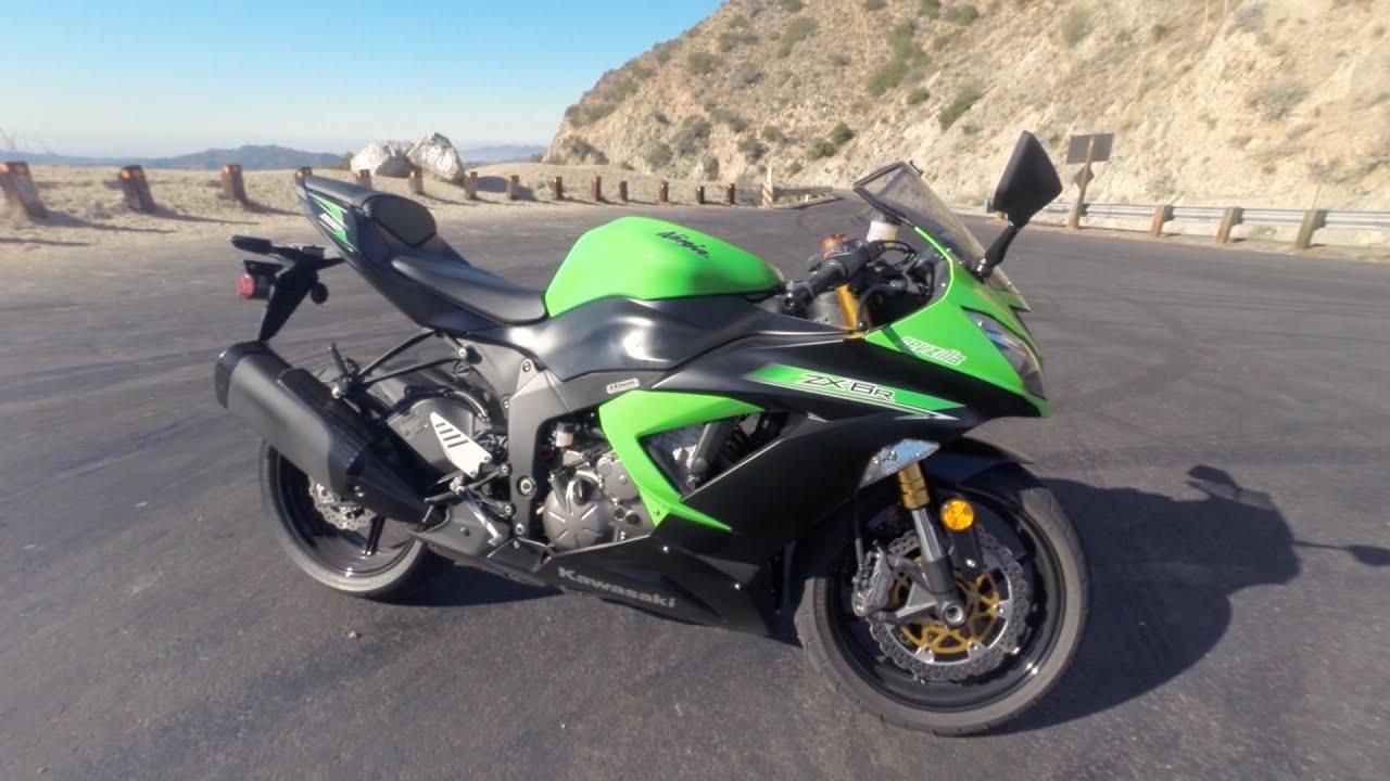 2015 Kawasaki Ninja Zx 6r Test Ride At Revzilla Com Youtube