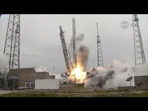 SpaceX launches Nasa cargo bound for International Space Station