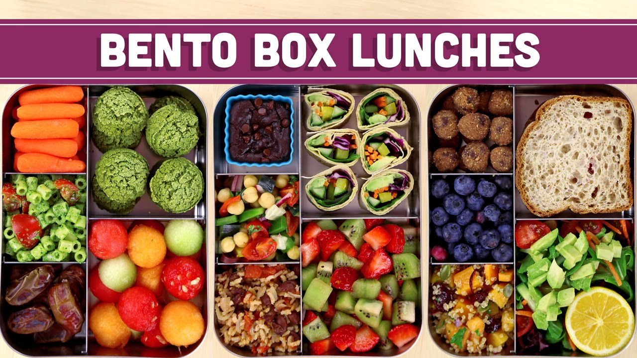 bento box lunches healthy vegan mind over munch youtube. Black Bedroom Furniture Sets. Home Design Ideas