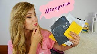 #1 ALIEXPRESS HAUL / Jak zamawiać ? / Czy warto ? / Czy strona jest bezpieczna ?