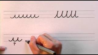 How To Write In Cursive // Lesson 1 // A Complete Course // Free Worksheets