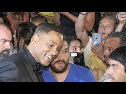 Hollywood legend Will Smith after the Closing Ceremony of the Cannes Film Festival 2017