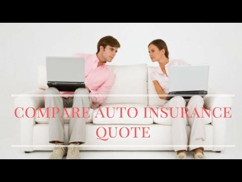 Compare auto insurance quote
