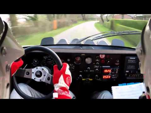 Lancia Stratos Inboard Wikinger Rallye
