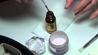 как сделать акриловые ногти дома