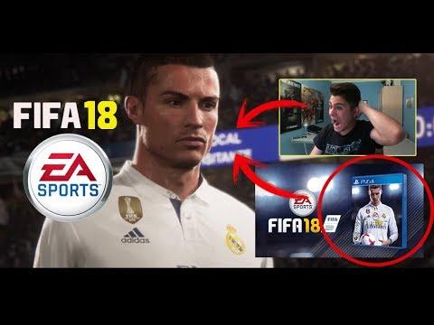REACCIÓN AL TRÁILER DE FIFA 18 + PORTADA OFICIAL
