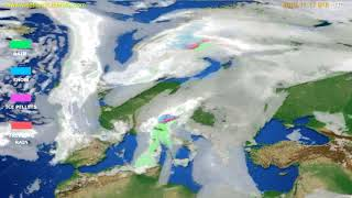 Precipitation forecast Europe // modelrun: 00h UTC 2019-11-16