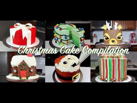 Amazing Christmas Cake Decorating Ideas Compilation   CHELSWEETS
