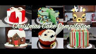 Amazing Christmas Cake Decorating Ideas Compilation | CHELSWEETS