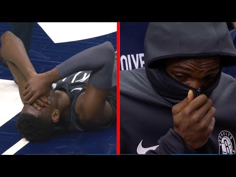 Caris LeVert SCARY Leg Injury - Broken Leg | November 12, 2018 | 2018-19 NBA Season