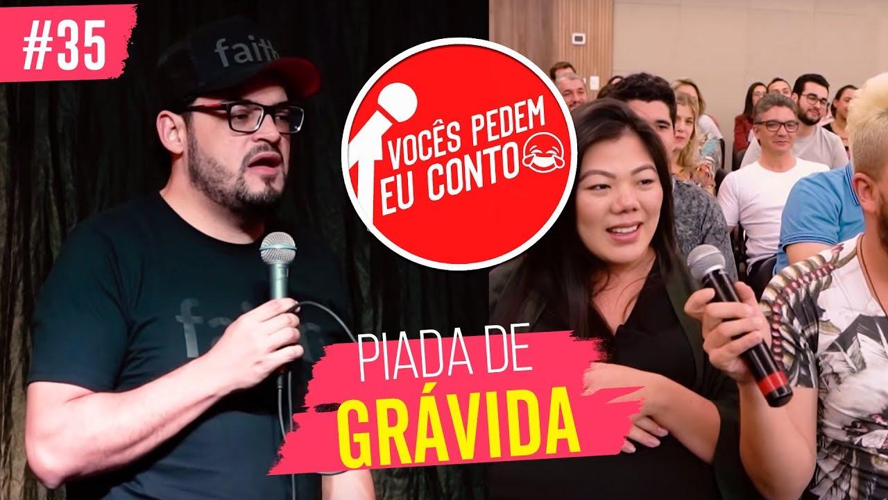 MATHEUS CEARÁ EM: PIADA DE GRÁVIDA | VOCÊS PEDEM EU CONTO - LONDRINA 2 #35