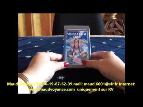 VISION QUEST TAROT PAR MAUD VOYANCE - YouTube 148e4d9e0e71