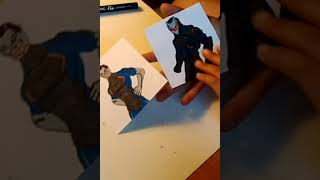 MAKING A ENDLESS FORTNITE CARD OUT OF PAPER