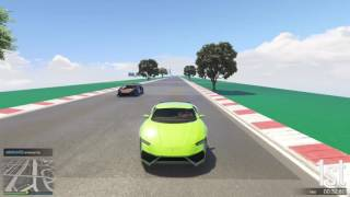 GTA 5 Top Speed Drag Race (Pegassi Tempesta vs. Reaper)