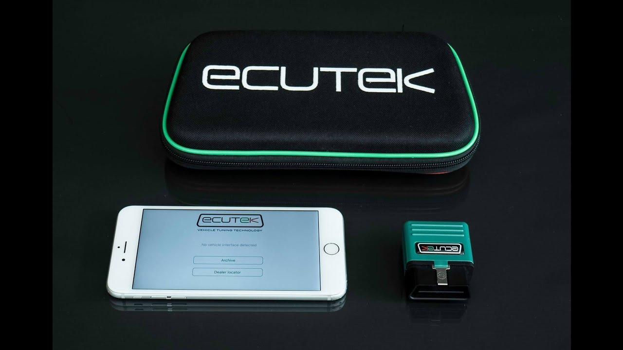 The New EcuTek Bluetooth Interface and iPhone App - ECU Connect
