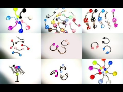 Tipos De Piercings Resumidos Youtube