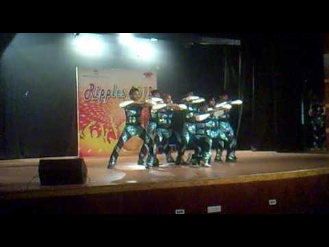 Ripples 2012 TCS Chennai Group dance Prelims