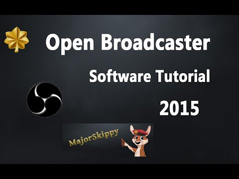 2015 OBS Open Broadcaster Twitch DEUTSCH Tutorial Einrichtung