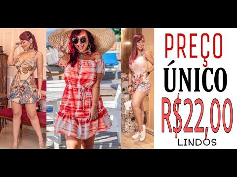 😍PREÇO ÚNICO - Vestidos lindos TUDO R$22,00 - REVELADO NO CANAL