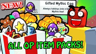 *NEW* ONETT GIFT & ALL $R OP ITEM PACKS! | Roblox Bee Swarm
