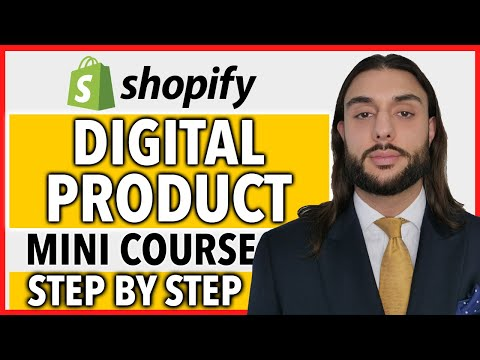 FREE Digital Product Shopify Course | COMPLETE A Z BLUEPRINT