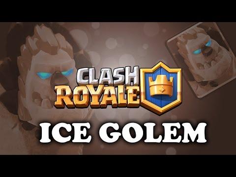Clash Royale | Intro To Ice Golem | New Sponge!