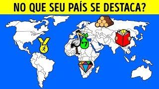 Qual a Especialidade de Cada País ? Parte 2