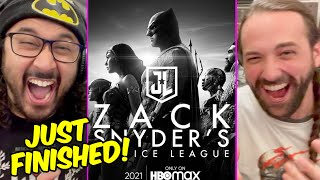 Zack Snyder's Justice League - IMMEDIATE REACTION & REVIEW!! (The Snyder Cut, Snyderverse, DCEU)