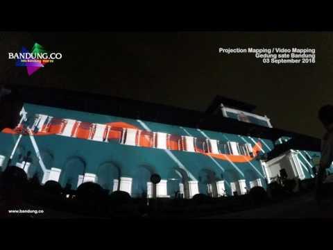 Video Mapping Gedung Sate Penutupan De Syukron 2016