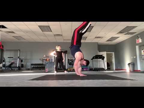 Training with Alex Lee Gymnastics & Acrobatics Training System