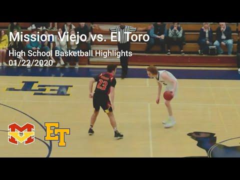 Mission Viejo High School vs. El Toro High School - Basketball Highlights