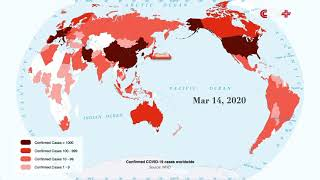 World Map Shows COVID-19 Pandemic: WHO