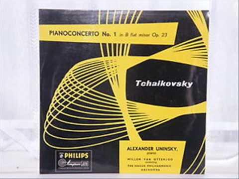 Alexander Uninsky, Tchaikovsky piano concerto no. 1 opus 23