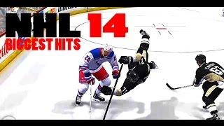 NHL 14 BIGGEST HITS COMPILATION
