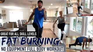 Full Body Workout   No Equipment Required   Burn Fat in ONLY 20 minutes