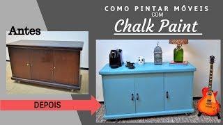 Como Pintar Móveis Sem Lixar – Chalk Paint
