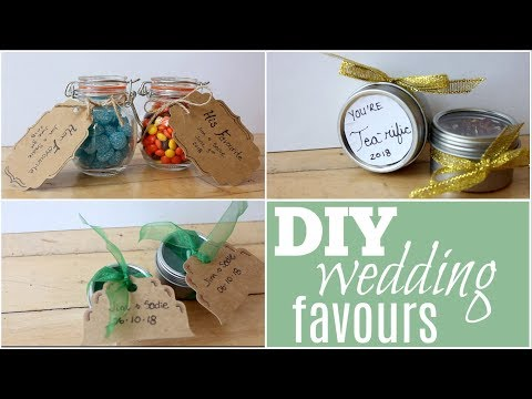 DIY Dollar Store Wedding Favours
