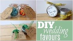 DIY Dollar Store Wedding Favours