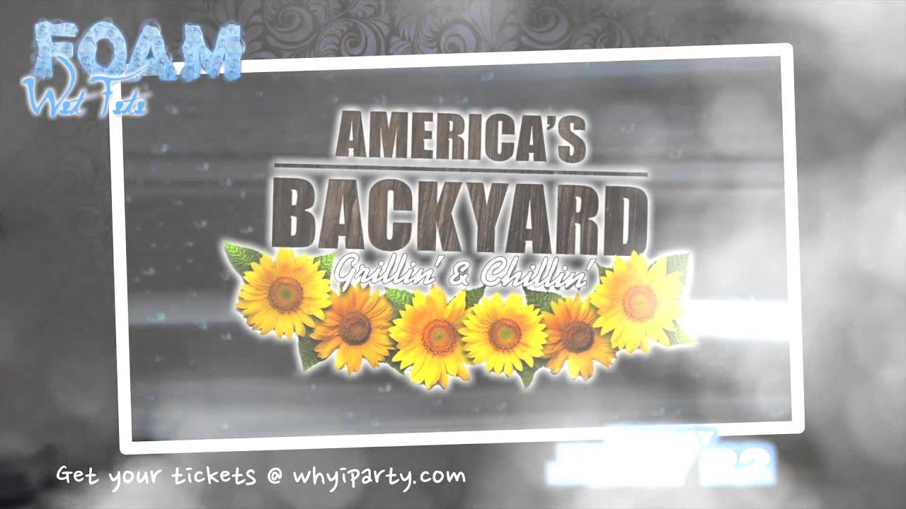 new america u0027s backyard foam party 2015 backyard ideas
