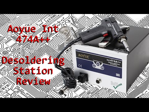 Review: Aoyue Int 474A++ Desoldering Station and Teardown