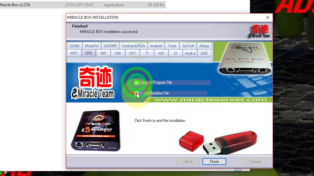 Download Setup and Crack Miracle Box v2.27A 100% working