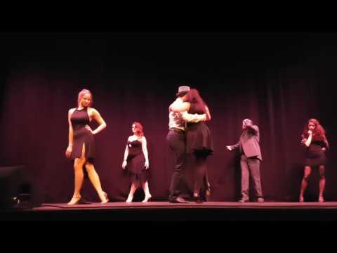 EDINBURGH UNIVERISTY TANGO SOCIETY  performing at the Dance Scratch Day (21/02/2017)