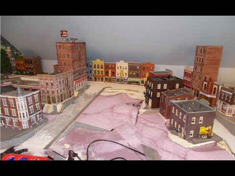 Building an O-scale town